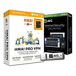 AVG HMA VPN Internet Security For