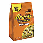 Reeses Miniatures Stand Up Bag 385