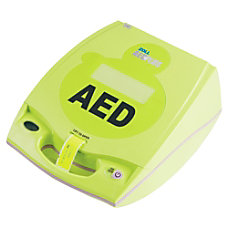 ZOLL AED Plus Defibrillator Package Lime