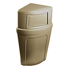 Continental 8325 Corner Round Receptacle 21