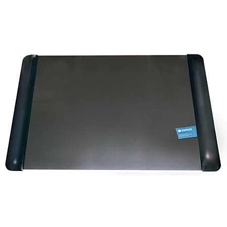 office depot brand executive desk pad with microban 19 x 24 black by