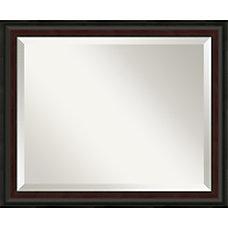Amanti Art Mahogany Fade Wall Mirror