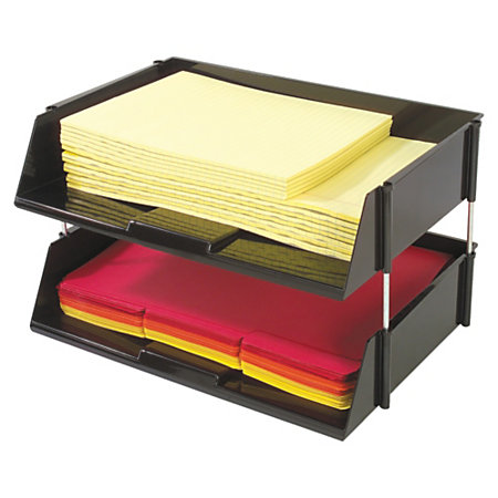 24511027 additionally 594431 also Letter Tray Desk Organiser together with 12d in addition OIC TraySorter  bo Letter Size 10. on stackable trays office depot