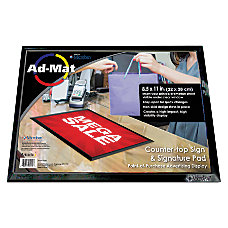 Artistic AdMat Counter Mat 8 12