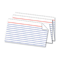 Office Depot Brand Perforated Index Cards