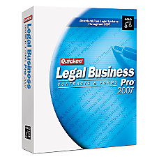 Quicken Legal Business Pro 2007 Traditional