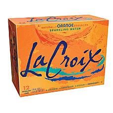 LaCroix Sparkling Water Orange 12 Oz