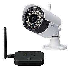 Lorex Wireless IndoorOutdoor Security Camera White