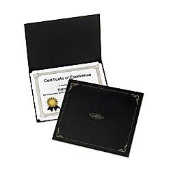 Oxford Linen finish Certificate Holders Letter