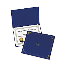 Oxford Linen finish Certificate Holders Letter