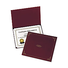 Oxford Certificate Holder Letter 8 12