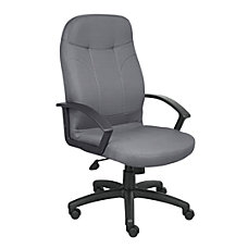 Boss Fabric Chair Gray