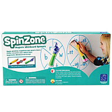 Learning Resources SpinZone Magnetic Whiteboard Spinners