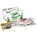 Crayola Fabric Markers Classpack Bright Assorted