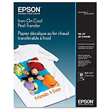 Epson Iron on Transfer Paper