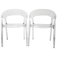 Baxton Studio Chloe Stackable Chairs 32