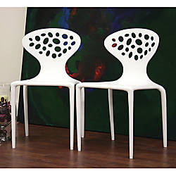 Baxton Studio Durante Stackable Chairs 32