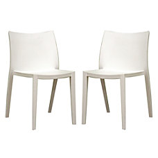 Baxton Studio Odele Stackable Chairs 32