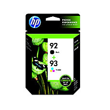 HP 9293 BlackTricolor Original Ink Cartridges