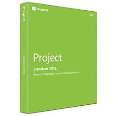 Microsoft Office Project Standard 2016 Download