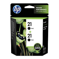 HP 21 Black Original Ink Cartridges