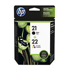 HP 2122 BlackTricolor Original Ink Cartridges
