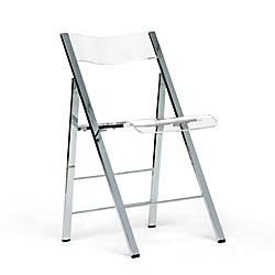 Baxton Studio Acrylic Folding Chair 31