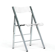 Baxton Studio Acrylic Folding Chair 31