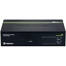 TRENDnet TE100 S16Eg Unmanaged Fast Ethernet