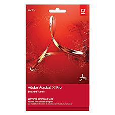 Adobe Acrobat XI Professional 2012 For