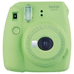 Fujifilm instax mini 9 Camera Lime