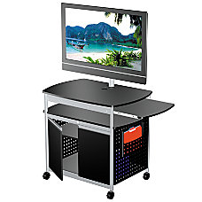 Safco Scoot Mobile AudioVisual Cart With