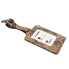ie Luggage Tag Snake