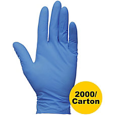 Kleenguard Powder free G10 Nitrile Gloves