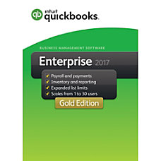 QuickBooks Desktop Enterprise Gold 2017 1