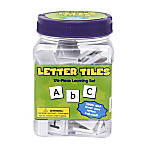 Eureka Learning Tool Tub Letter Tiles