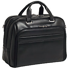 McKleinUSA Springfield Leather Laptop Case For