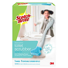 Scotch Brite Disposable Toilet Bowl Brush