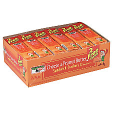 Keebler Cheese Peanut Butter Sandwich Crackers