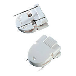 Advantus Panel Wall Clips White Pack