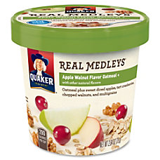 Quaker Oats Real Medleys Apple Walnut