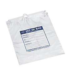 Medline Respiratory Patient Set Up Bag