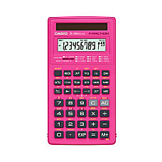 Casio Scientific Calculator FX260SLRSC PK Pink