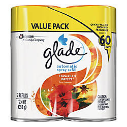 Glade Automatic Spray Refill Value Pack