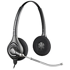 Plantronics SupraPlus Wideband Headset Black