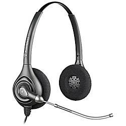 Plantronics SupraPlus Wideband Headset Black