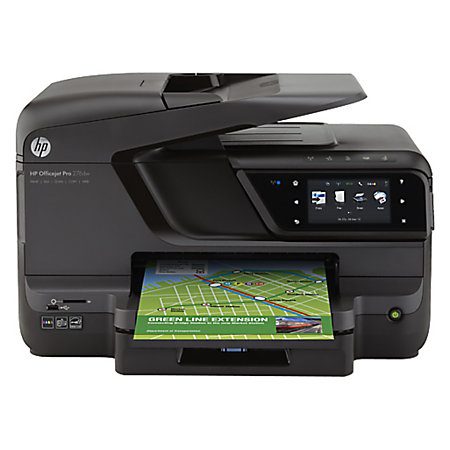 HP Officejet Pro Wireless Color Inkjet All In One Printer Scanner Copier And Fax 276dw by Office ...