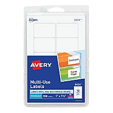 Avery Removable InkjetLaser Multipurpose Labels 1