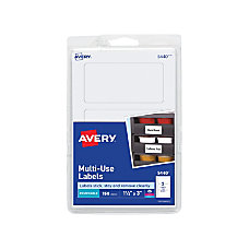 Avery Removable InkjetLaser Multipurpose Labels 1