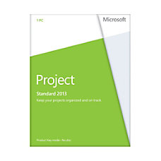 Microsoft Office Project 2013 English Version